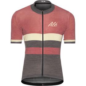 Alé Cycling Classic Vintage - Maillot manches courtes Homme - rouge/noir